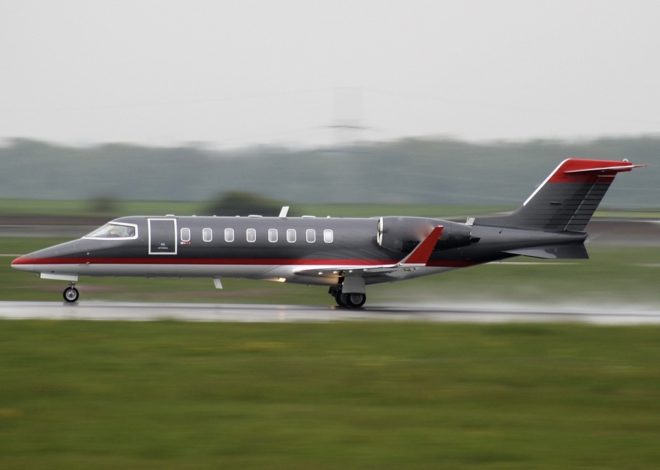 LearJet45 Exterior